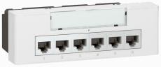 Mosaic Switch 6+2 RJ45 Poe 10/100Base T