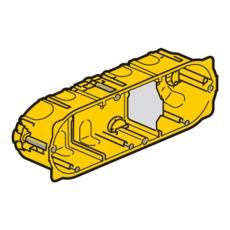 Mosaic Forfradåse 8M 40 mm, gul, Europadåse