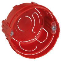 Mosaic Indmuringsdåse 2M 40 mm Rund Rød