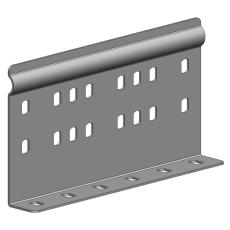 Samlebeslag EC universal P31 100 mm galvaniseret