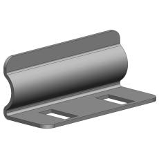 Samlebeslag ea universal P31 25 mm galvaniseret