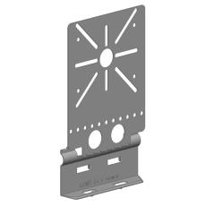 Montageplade P31 25 mm galvaniseret