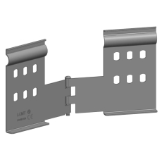 Koblingsbeslag horisontal EH P31 100 mm galvaniseret