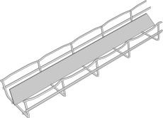 GITTERBAKKECF54/300/E m/150/50