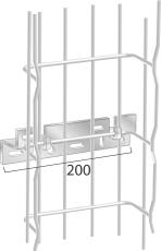 Bærebøjle FV1-X varmgalvaniseret