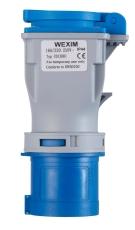 Adapter CEE 3P 16A 230V/230V DK-Stik