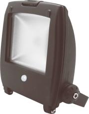 Projektør LED 10W 700 lumen, 4200K, med sensor