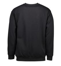 Sweatshirt, sort, str. L