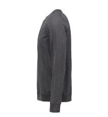 ID Sweatshirt 0615 med rund hals, koks melange, str. 3XL