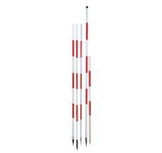 Landmålerstok, alu, 160 cm