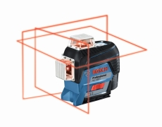 Bosch cirkellaser GLL 3-80 C, 4xAA