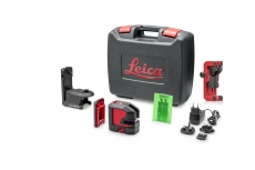 Leica Lino L2P5 prik-/streglaser grøn laser, genopladbar bat
