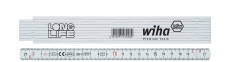 Wiha fiberglasforstærket tommestok Longlife® 2 m metrisk, 10
