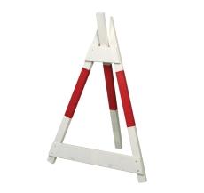Skiltebuk, rød/hvid