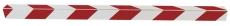 Skurvognshjørne rød/hvid