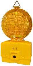 LED-blinklygte, gul linse, tosidet