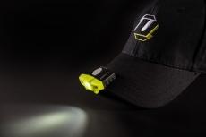 Unilite LED- lygte til montering på cap eller hjelm