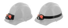 COAST hjelmbeslag / gummipanderem til FL pandelampe