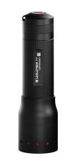 Led Lenser lygte P7, med fokus og 3 lysstyrker