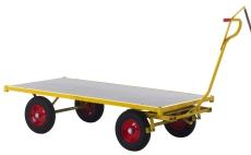 Ravendo transportvogn TW2000, 100 x 200 cm, massive hjul