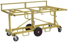 Ravendo gipspladevogn med kip og massive hjul