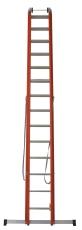 JUMBO kombistige, glasfiber, 2x14 trin/7,1 m