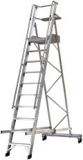 JUMBO platformsstige, 10 trin/2,61 m