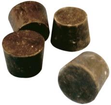 Pollmann gummiprop 50 mm, konisk, t/ubenyttet sugehul i stam
