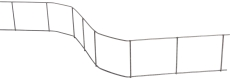 Afstandsholder, Distans 50 mm, 2 m