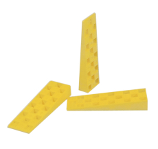 Plastkile, gul
