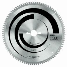 Rundsavklinge, Multi Material, Ø216/30 mm, 80 td.