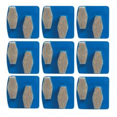 SNAP ON diamantslibesegment, sæt, blå/fin