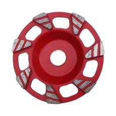 AIRTEC diamant slibeskive 125 mm, rød