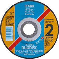 PFERD Duodisc kombiskive, 125 mm