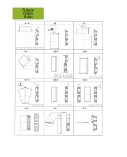 Rullepar HM S8-4 (Nr 14) til sikke- og bertlemaskine