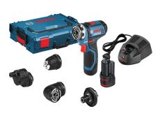 Bosch bore-/skruemaskine GSR 12V-15 5I1, 2x2,0 Ah