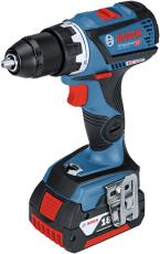 Bosch skruemaskine GSR 18V-60C, 2 x 5,0 Ah, L-Boxx