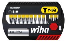 Wiha bitssæt Y-bits 25 mm, gul, TX/PH/PZ, 13 dele