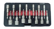 Tecos boltbitssæt T-B014, 14 dele, 5-17 mm