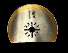 Milwaukee multitool segmentklinge, 80 mm, TIN, træ/søm