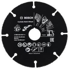 Bosch skæreskive, multiwheel HM, Ø125/22,23 mm x 1,0 mm