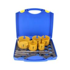 ProFit Multi Purpose HM hulsav, EL-sæt, 8 dele, 57-114 mm