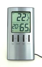 Digital termometer med hygrometer