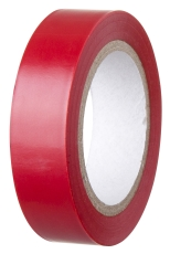 Isolerbånd 15 mm x 10 m, rød