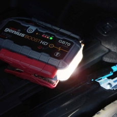 Noco Genius GB70 Boost HD - jumpstart til 12-V-blybatterier