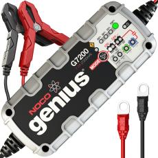 Noco Genius G7200 batterioplader til 12V og 24V, 7200mA