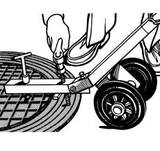 Dækselløfter med hjul