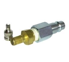 Lynkobling, adaptor fra rørballon til pumpe