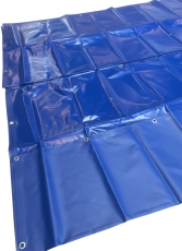 Presenning, blå, 4x6 m
