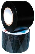 PVC-isoleringstape 50 mm x 20 m, sort